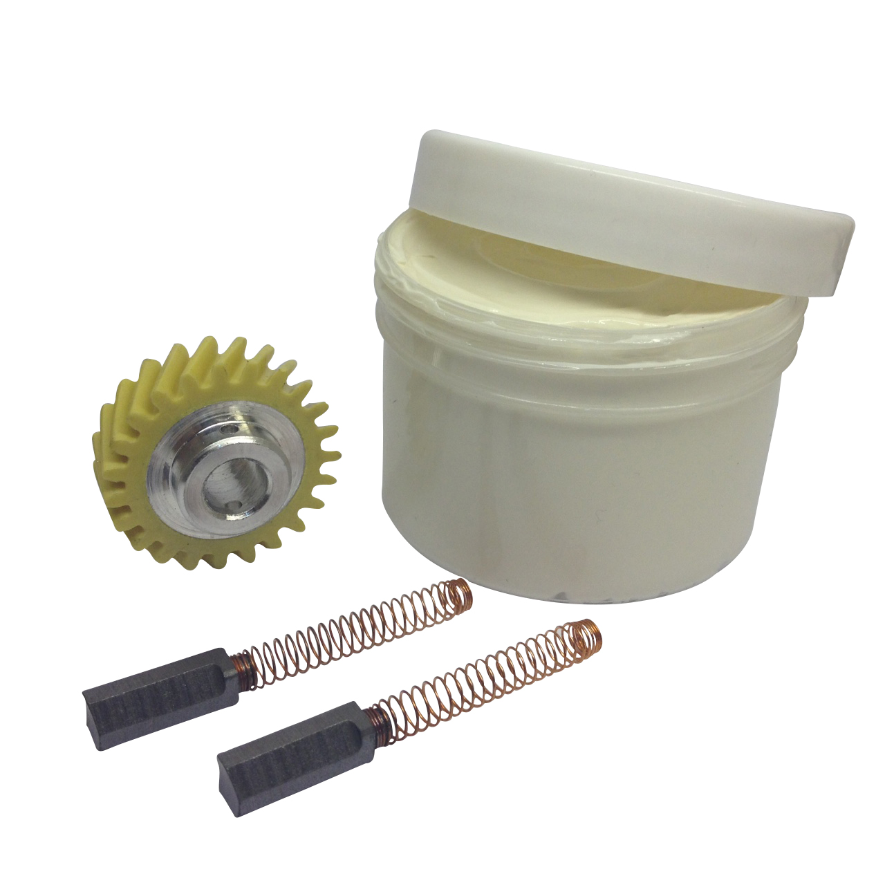 Kitchenaid Worm Pinion Gear 2 X Motor Brushes 130g Of