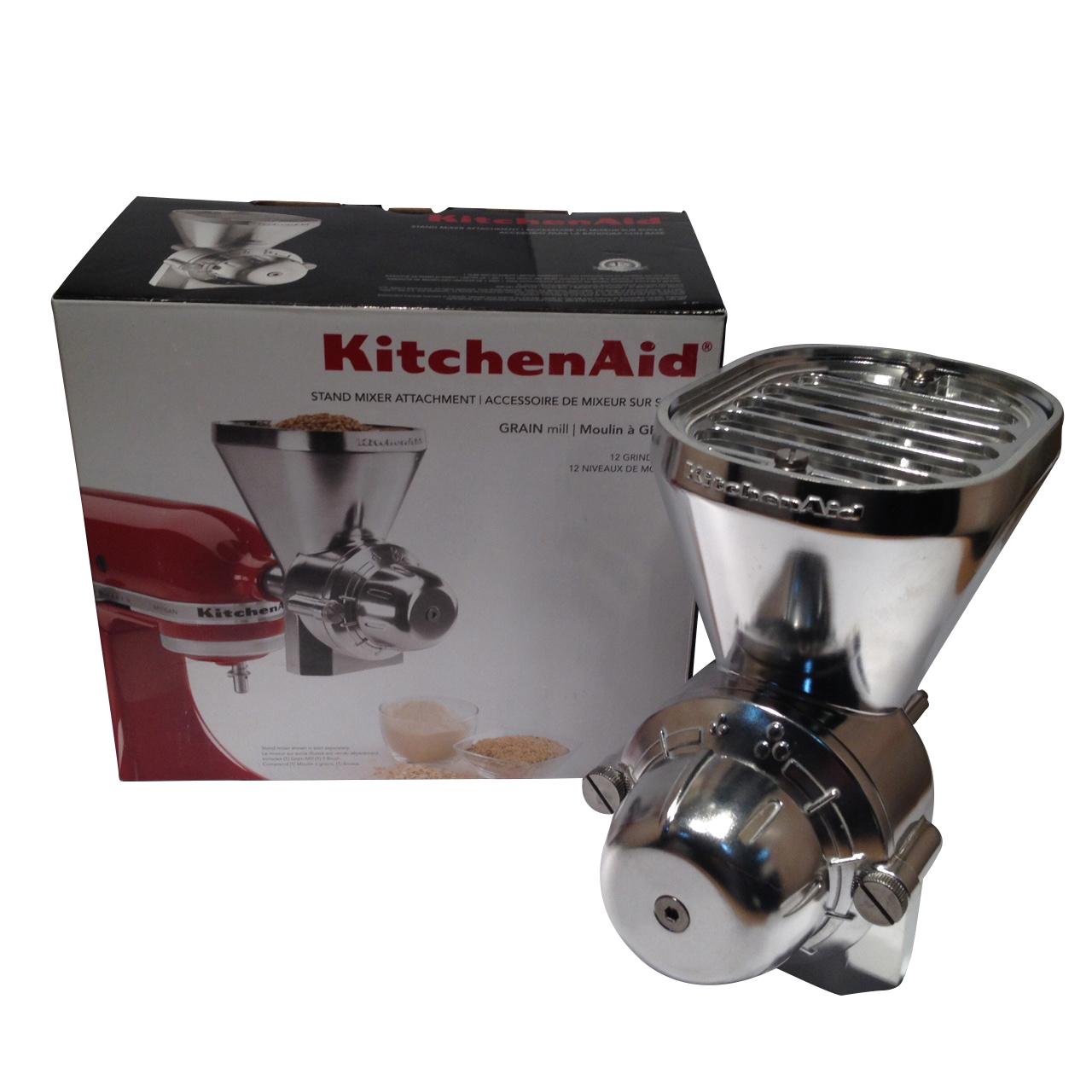Kitchen Aid Stand Mixer Grain Attachment