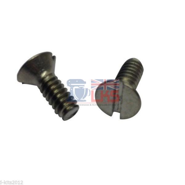 bowl support screws