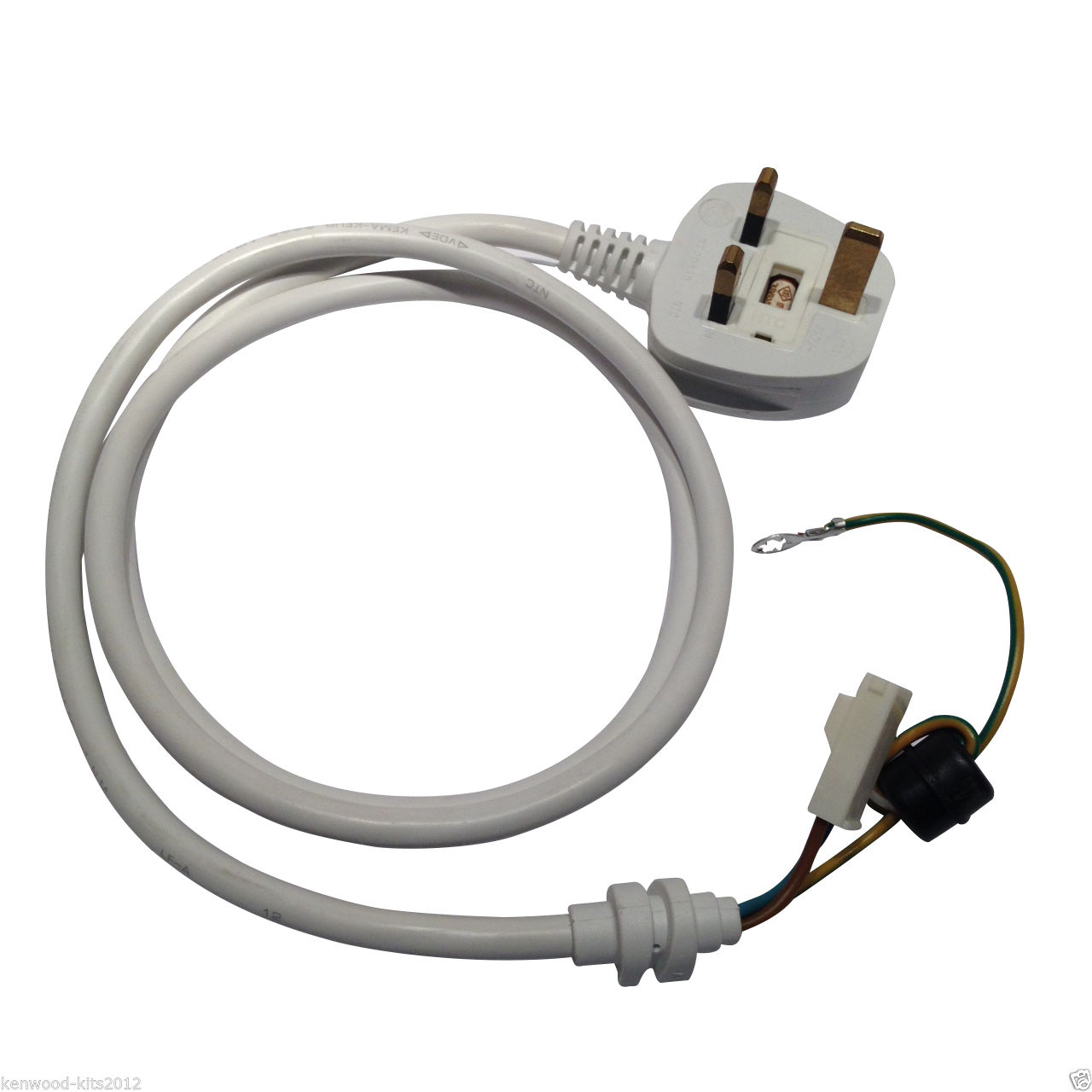 Kitchenaid Stand Mixer Power Cable Lead With Uk Plug