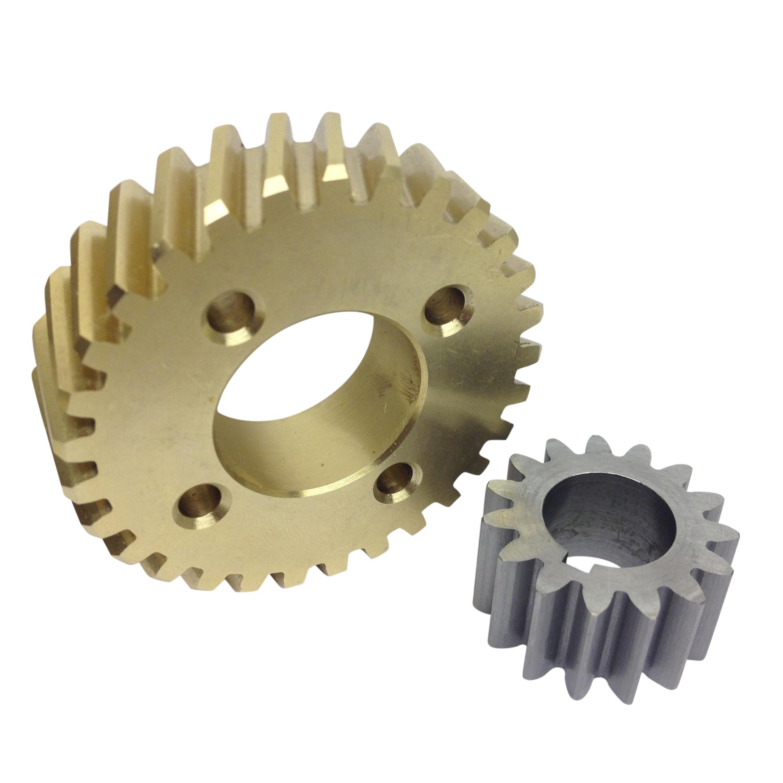 Hobart Dough Mixer Bronze Gear And Steel Shaft Gear Set